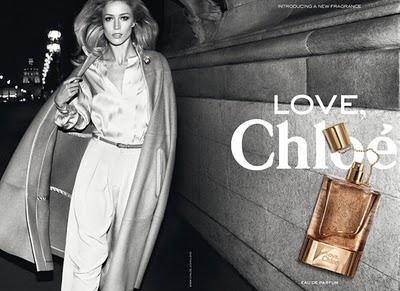 Raquel Zimmermann Chloe Love Fragrance