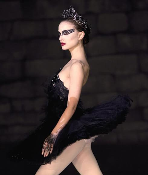 natalie portman in black swan wearing rodarte