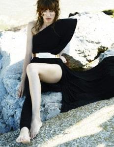madame figaro pure couture lou doillon in alexandre vauthier