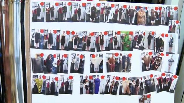 Jean Paul Gaultier Haute Couture Fall 2010 Looks Board