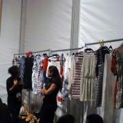 Ivana Helsinki Spring 2011 Clothes Racks