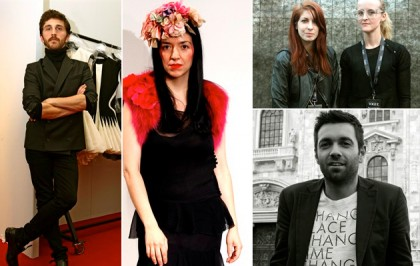 Who Is On Next 2010: David Koma, Elisa Palomino, Ohne Titel - Alexa Adams and Flora Gill, MSGM - Massimo Giorgetti