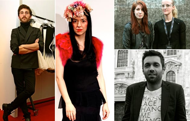 Who Is On Next 2010: David Koma, Elisa Palomino, Ohne Titel - Alexa Adams and Flora Gill, MSGM - Massimo Giorgetti