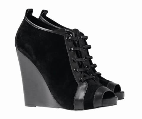 Pierre Hardy For Gap Fall 2010 Peep-Toe Wedge Shoes