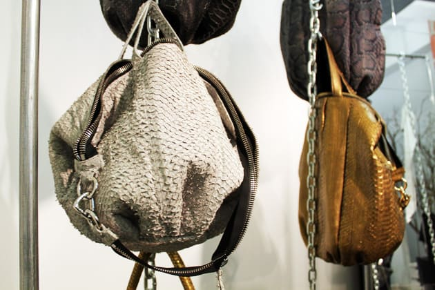 Sang A Spring 2011 Sculpted Fish Leather Bag