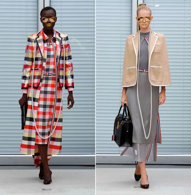 Thom Browne Women's Spring 2011 Collection