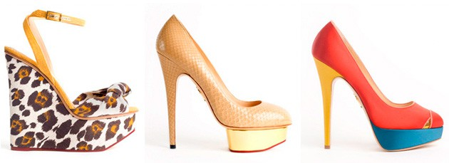 Charlotte Olympia Spring 2011 Shoes Collection