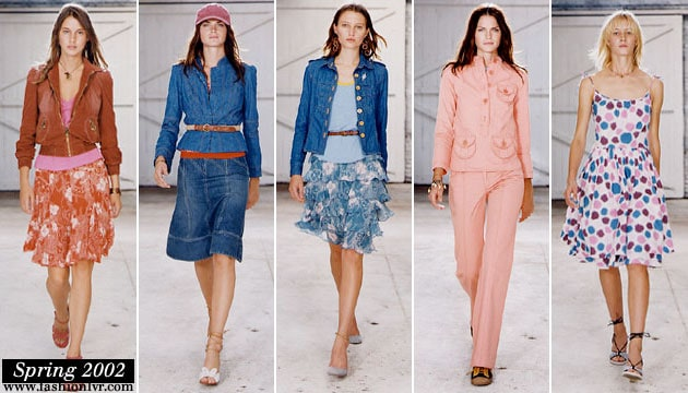 Marc By Marc Jacobs Spring 2002 Collection