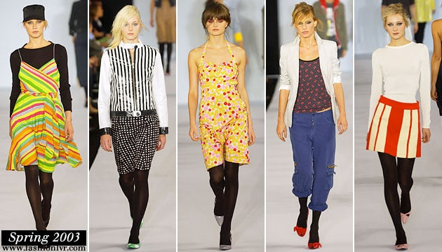 Marc By Marc Jacobs Spring 2003 Collection