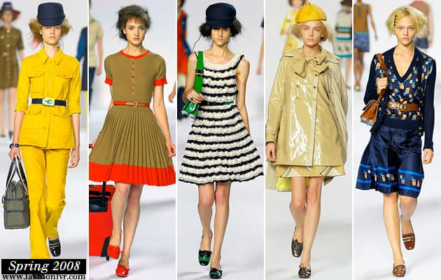 Marc By Marc Jacobs Spring 2008 Collection