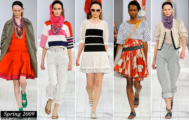 Marc By Marc Jacobs Spring 2009 Collection