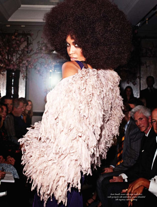 Tom Ford Spring 2011 Joan Smalls By Terry Richardson