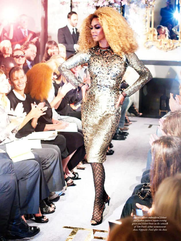 Tom Ford Spring 2011 Runway Beyonce By Terry Richardson