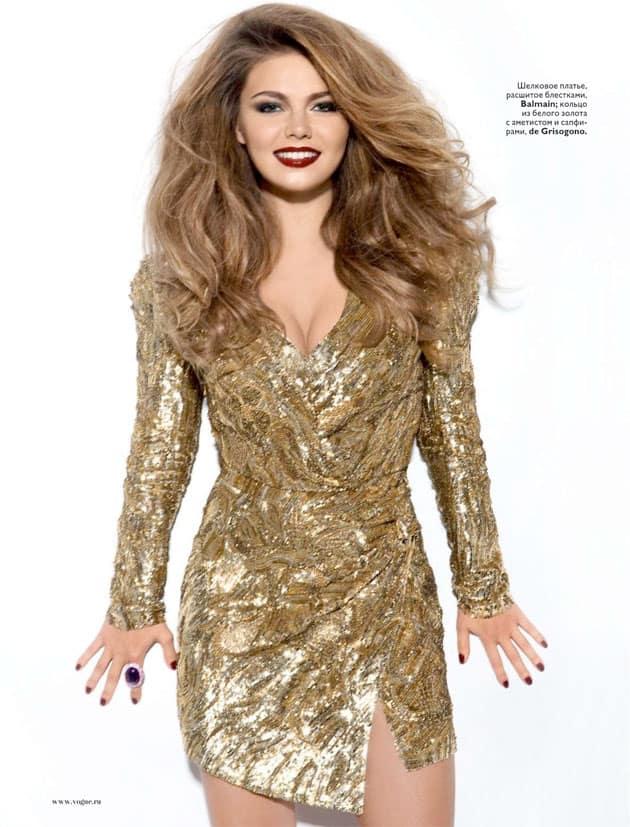 Alina Kabaeva Vogue Russia January 2011