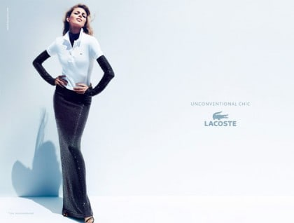 Anja Rubik Lacoste Spring 2011 Campaign