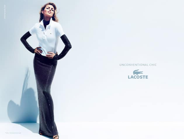 Anja Rubik Lacoste Spring 2011 Campaign