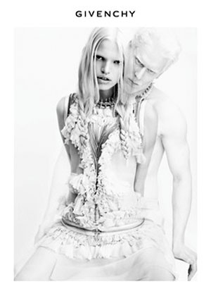 Givenchy Spring 2011 Ad Campaign - Albino Daphne Groeneveld