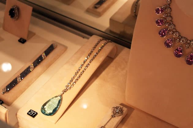 Sotheby's Magnificent Jewels Aquamarine Pendant