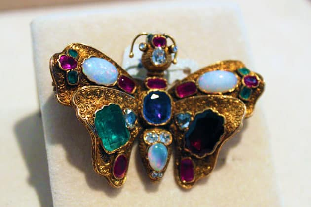 Sotheby's Magnificent Jewels Butterfly Brooch