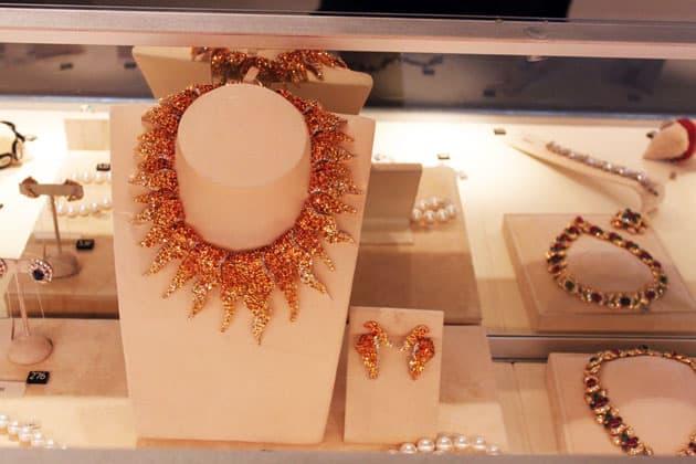 Sotheby's Magnificent Jewels Christian Dior Sunburst Necklace
