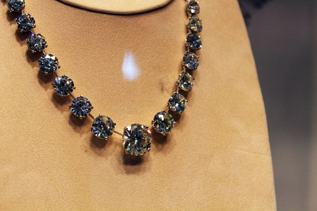 Sotheby's Magnificent Jewels Diamond Necklace