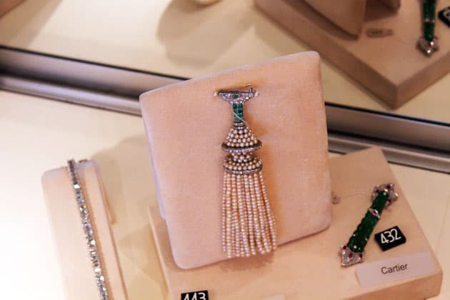Sotheby's Magnificent Jewels Tassel Brooch
