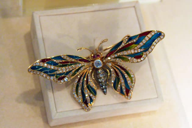 Sotheby's William B Dietrich Estate Butterfly Brooch