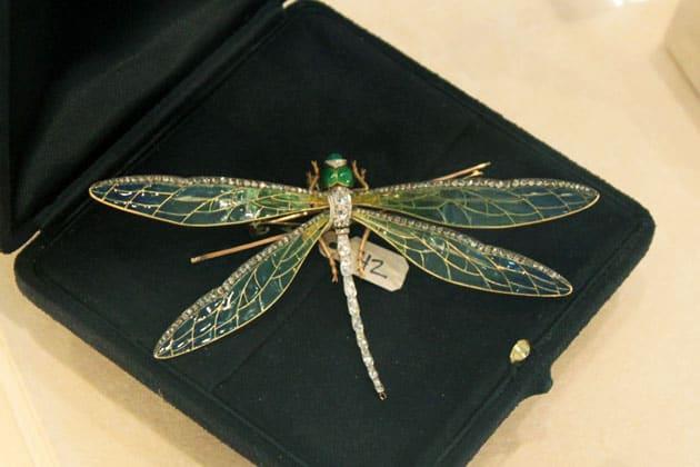 Sotheby's William B Dietrich Estate Dragonfly Brooch