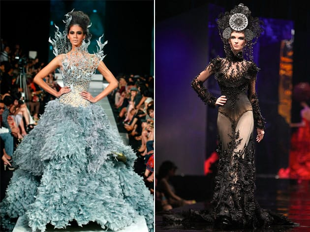 Tex Saverio Spring 2011 - La Glacon And My Courtesan