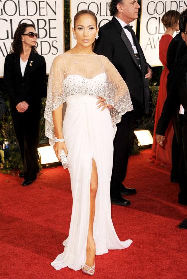 2011 Golden Globe Awards Jennifer Lopez wears Zuhair Murad dress