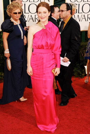 2011 Golden Globe Awards Julianne Moore wears Lanvin dress