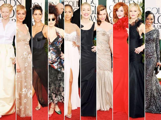 2011 Golden Globe Awards Worst Dressed List
