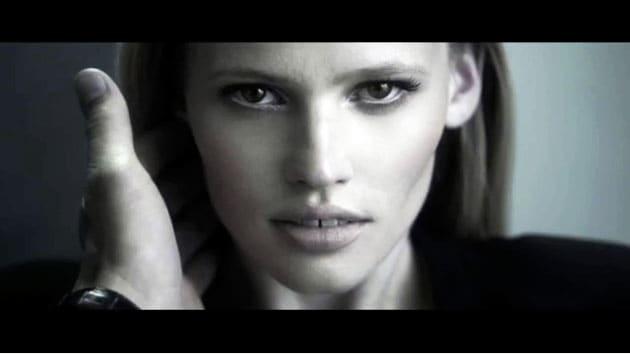 Calvin Klein Collection TV Commercial Lara Stone
