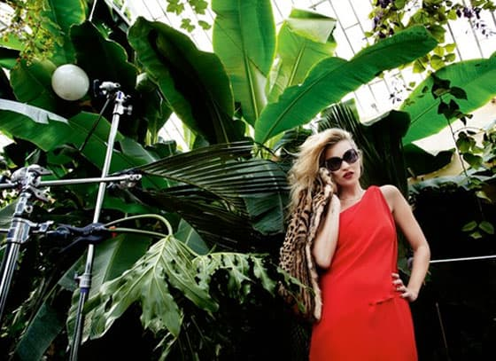 Kate Moss Vogue Eyewear Campaign Preview