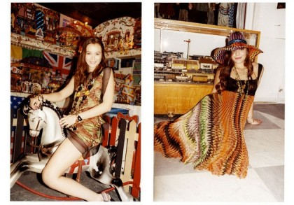 Leighton Meester For Missoni Spring 2011 Campaign