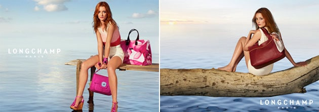 Audrey Marnay Longchamp Spring 2011 Campaign