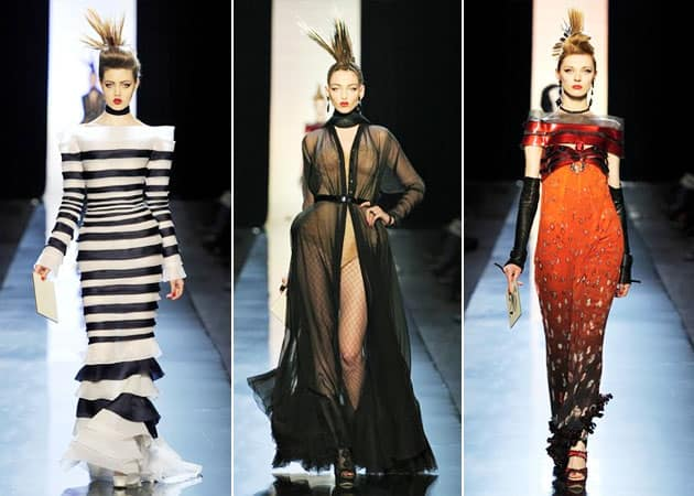 Jean Paul Gaultier Spring 2011 Haute Couture Collection
