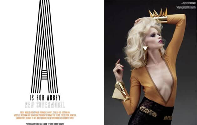 A Is For Abbey Lee Kershaw V Magazine #69