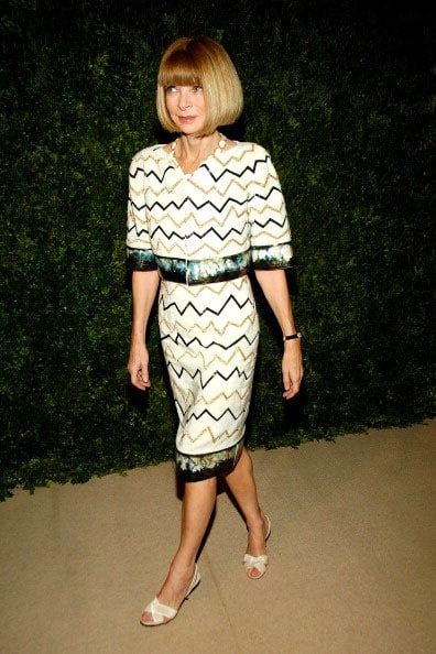 Anna Wintour Chanel Fall 2010 Haute Couture Dress CFDA Awards
