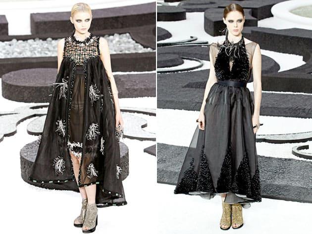 Vogue Italia January 2011 Cover Chanel Spring 2011 Dresses