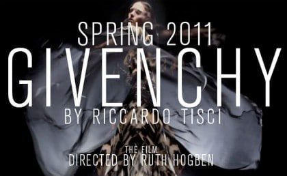 Givenchy Ruth Hogben SHOWStutio Film