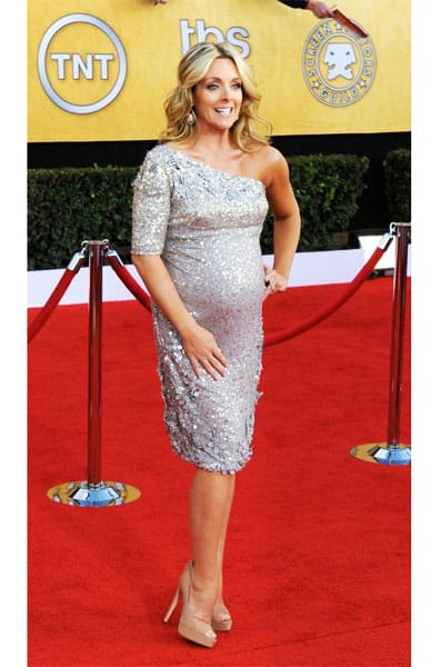 Jane Krakowski Badgley Mischka Dress 2011 SAG Awards