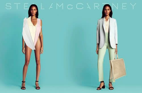Joan Smalls Stella McCartney Spring 2011 Campaign