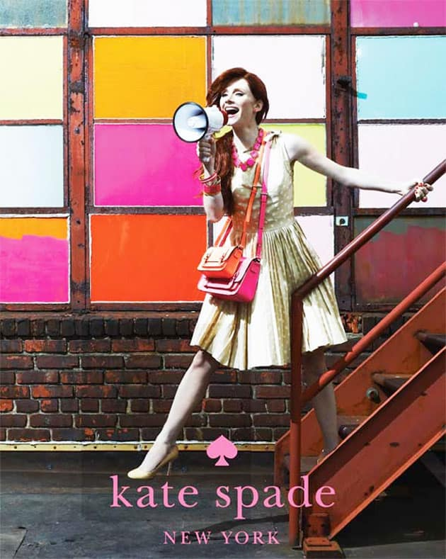 Bryce Dallas Howard In Kate Spade Spring 2011 Ad Campaign