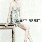 Sasha Pivovarova Alberta Ferretti Spring 2011 Campaign