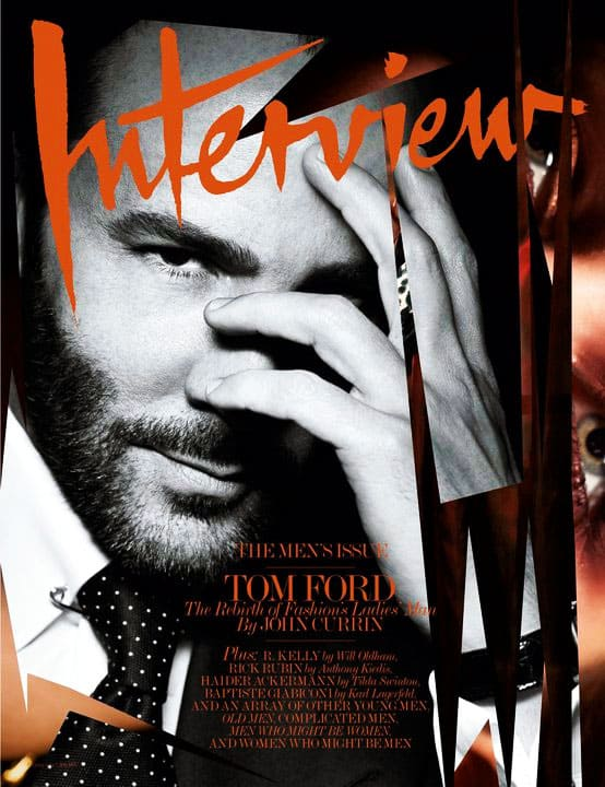 Tom Ford Interview Magazine February 2011 Cover