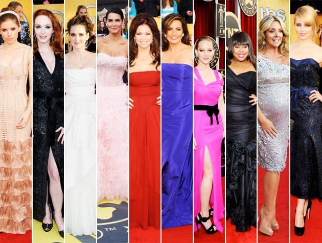 Worst Dressed 2011 SAG Awards