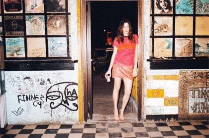 Liv Tyler Wears Laser Cut Proenza Schouler In Purple Fashion Spring 2011 Issue