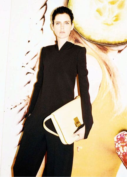 Stella Tennant Celine Spring 2011 Campaign