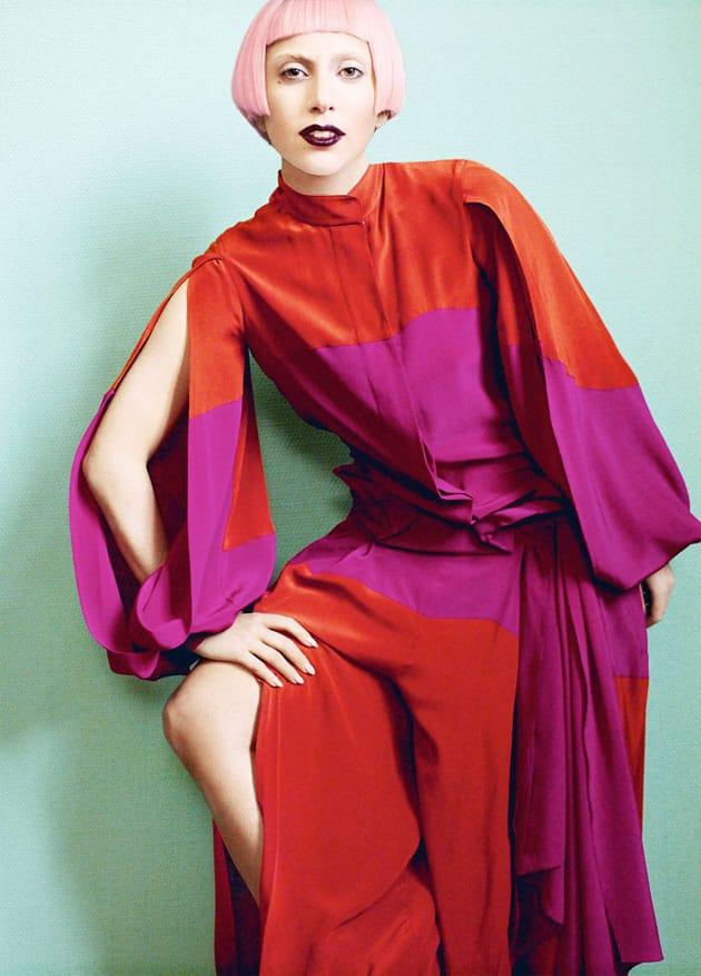 Lady Gaga Vogue March 2011 Editorial Louis Vuitton